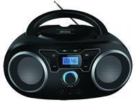 MANTA CD player, FM, USB, MP3, LCD, DC + baterije, crni BBX004
